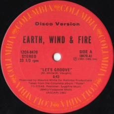 Earth, Wind & Fire - Let\'s Groove / Fantasy (disco Version)