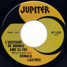 Lautrec, Donald - L\'histoire De Bonnie And Clyde