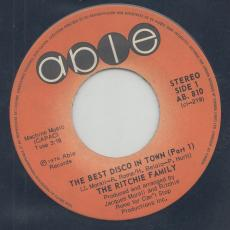 Ritchie Family, The - The Best Disco In Town