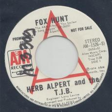 Alpert, Herb & The T.J.B. - Fox Hunt  ( Promo )
