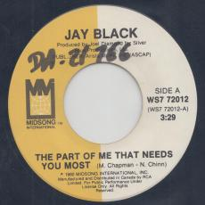 Black, Jay - The Part Of Me That Needs You Most