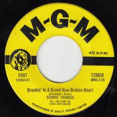 Francis, Connie - Breakin\' In A Brand New Broken Heart