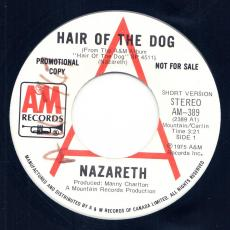 Nazareth - Hair Of The Dog  ( Promo )