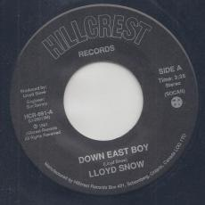 Snow, Lloyd - Down East Boy