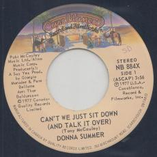 Summer, Donna - Can\'t We Just Sit Down ( And Talk It Over )
