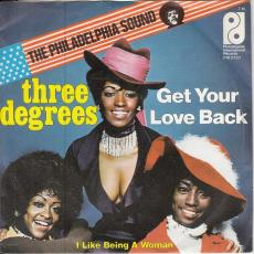 Three Degrees - Get Your Love Back  ( Picture Sleeve )