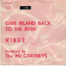 Wings ( Mccartneys) - Give Irland Back To The Irish  ( Misprint Picture Sleeve )