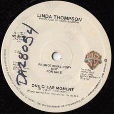 Thompson, Linda - One Clear Moment  ( Promo )