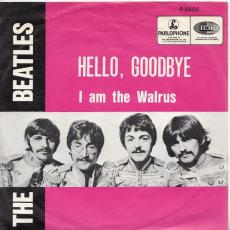 Beatles, The - Hello, Goodbye  ( Uk 1967 Pressing / Picture Sleeve )