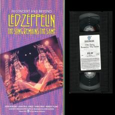 Led Zeppelin - The Song Remains The Same : In Concert And Beyond ( Vhs / Ntsc )