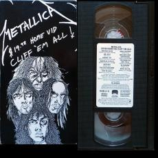 Metallica - Cliff \'em All - 19.98$ Home Vid ( Vhs / Ntsc )