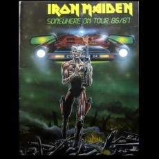 Iron Maiden - Somewhere On Tour 86/87 ( Programme )