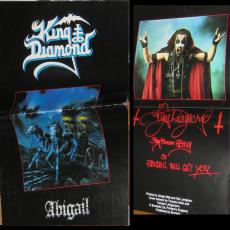 King Diamond - Abigail 1987 Tour ( Uk / Fold-out Programme )
