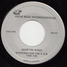 King, Martin - Working For The Kgb