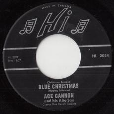Cannon, Ace - Blue Christmas
