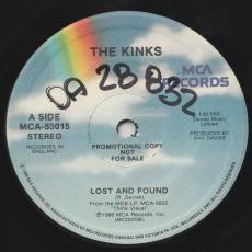 Kinks, The - Lost And Found  ( Promo )