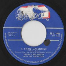 Chacksfield, Frank & His Orchestra - A Paris Valentine