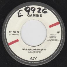 Gamine - Nos Sentiments