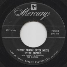 Big Bopper - Chantilly Lace / Purple People Eater Meets Witch Doctor