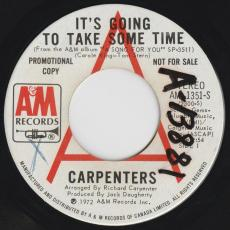 Carpenters - It\'s Going To Take Some Time  [ Promo ]