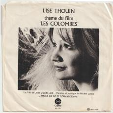 Thouin, Lise - Theme Du Film Les Colombes [ Picture Sleeve ]