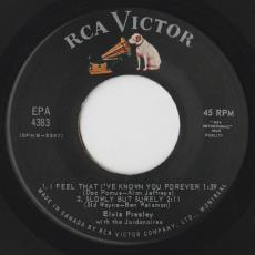 Presley, Elvis With The Jordanaires - Tickle Me [ 5 Track Ep ]