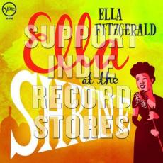 Fitzgerald, Ella - Blackfriday2018 - Ella At The Shrine ( Translucent Yellow 45 Rpm Vinyl )