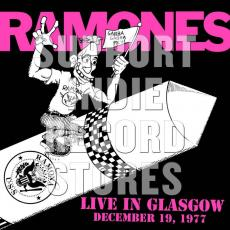 Ramones, The - Blackfriday2018 - Live In Glasgow December 19, 1977 (numbered, 180gr 2 LP + Etching Side 4