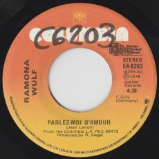 Wulf, Ramona - Parlez-moi D\'amour / I\'ll Never Marry In The Summertime