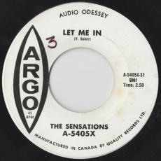 Sensations, The - Let Me In  [feat. Yvonne Vaker ]