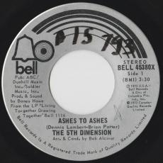 5th Dimension, The - Ashes To Ashes / The Singer