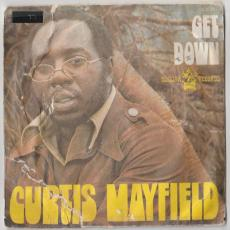Mayfield, Curtis - Get Down / We\'re A Winner [ France / Pic Sleeve ]