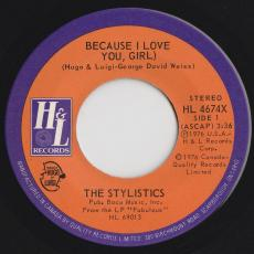 Stylistics, The - Because I Love You, Girl
