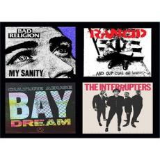 Bad Religion / Rancid / Culture Abuse / Interrupters - Epitaph Records Blind Box Set Of 4 Records (3\