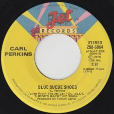 Perkins, Carl - Blue Suede Shoes  /  Rock Around The World