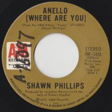 Phillips, Shawn - Anello ( Where Are You )