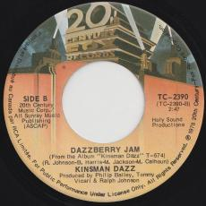 Kinsman Dazz - I Might As Well Forget About Loving You / Dazzberry Jam