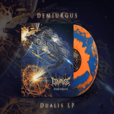 Equipoise - Demiurgus   [ 2lp / Dualis : Blue & Orange Merge Vinyl / Ltd. 300copies ]