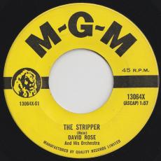 Rose, David & His Orchestra - The Stripper / Ebb Tide