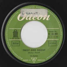 Beatles, The - Twist And Shout / Boys  [ Allemagne ]