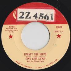 Silver, Long John & The Silver Elves - Harvey The Hippo / Snow Mist