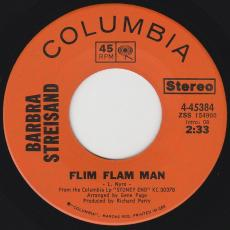Streisand, Barbara - Flim Flam Man / Maybe