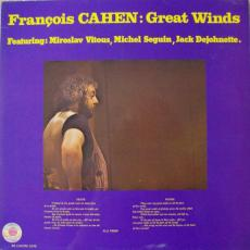 Cahen, François - Great Winds