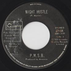 P.M.S.B. - Night Hustle / Sticks And Stones