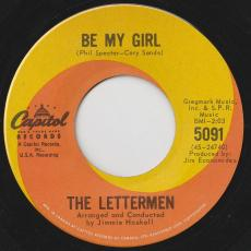 Lettermen, The - Be My Girl / Where Or When