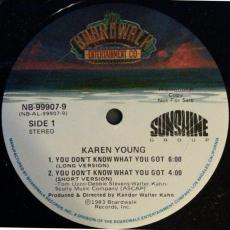 Young, Karen - You Don\'t Know What You Got