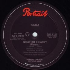 Saga - What Do I Know?