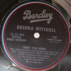 Mitchell, Brenda - Body Party / Don\'t You Know