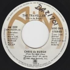 De Burgh, Chris - The Traveller ( Edit Version ) / Wall Of Silence