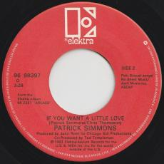 Simmons, Patrick - So Wrong / If You Want A Little Love